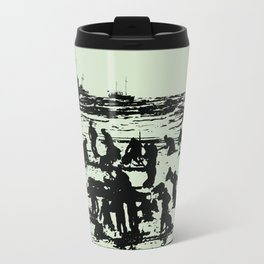 He's on me... I'm on him. Dunkirk Film Poster Travel Mug
