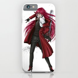 Grell : Red Death iPhone Case