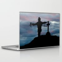 dark souls Laptop & iPad Skins featuring Harvesting souls by PICSL8