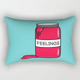 Feelings in a Jar Rectangular Pillow