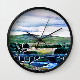 Thingvellir Iceland Wall Clock
