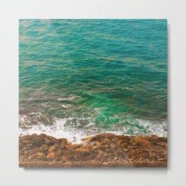 Big Blue Waters Metal Print