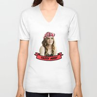 scandal V-neck T-shirts featuring Sassy Abby by itsbritt