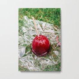 Candy Apple Metal Print