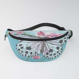 Japanese Paper Kite Butterfly Fanny Pack