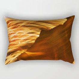 Fire Dancer 3 Rectangular Pillow