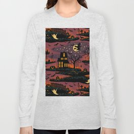 Halloween Night - Bonfire Glow Long Sleeve T-shirt