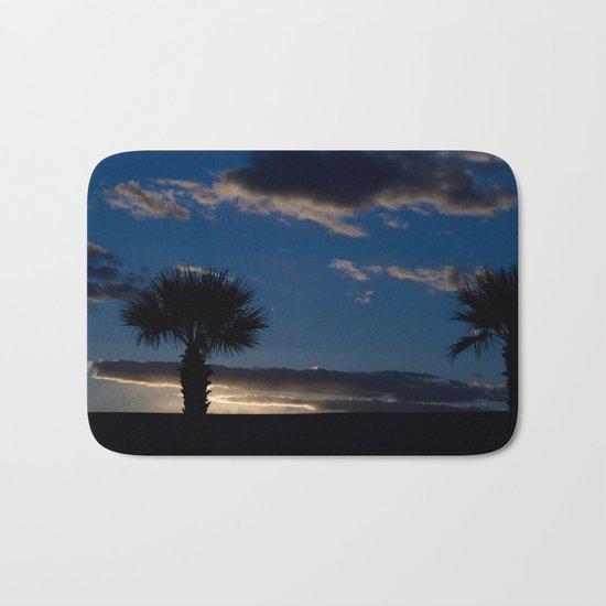 Palm Sunset - IV Bath Mat