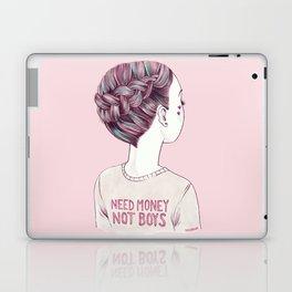 need money not boys Laptop & iPad Skin