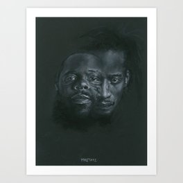 Dah Shinin' Art Print