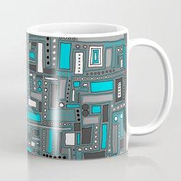 Turquoise Dream (Pattern) Coffee Mug