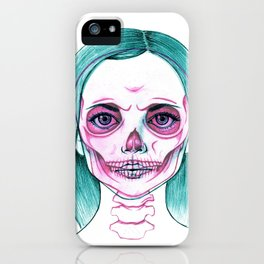 X-Ray Girl iPhone Case