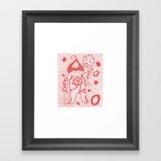 Onion Man Framed Art Print