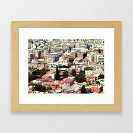 Overpopulated Framed Art Print