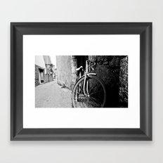 bicycle. vélo. Framed Art Print
