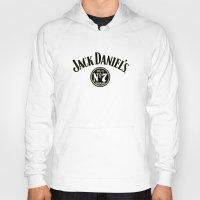 jack daniels Hoodies featuring JACK DANIELS by Bilqis