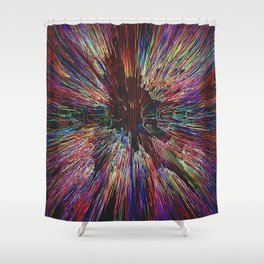 Zoom Zoom Zoom Shower Curtain