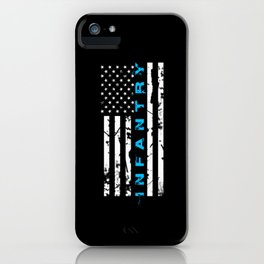 Infantry Blue iPhone Case