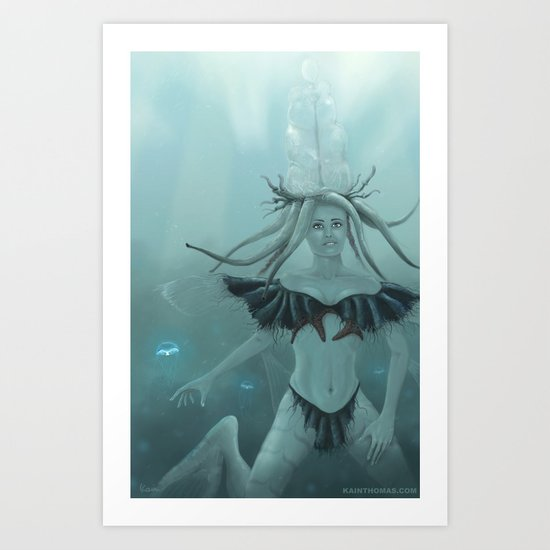 Seaaira Art Print