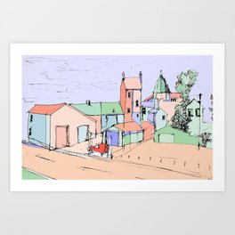Stoke-on-Trent Art Print