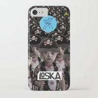mass effect iPhone & iPod Cases featuring Mass Effect by LOSKA
