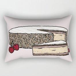Z is for Zuger Kirschtorte Rectangular Pillow