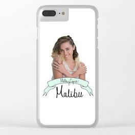 Miley #8 Clear iPhone Case