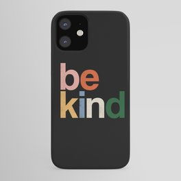be kind colors rainbow iPhone Case