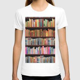 Vintage books ft Jane Austen & more T-shirt