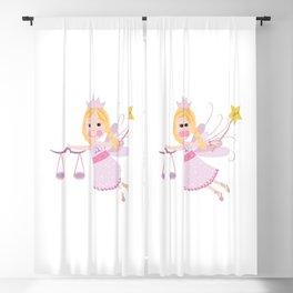Libra zodiac sign Blackout Curtain