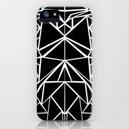 Black machaon iPhone Case