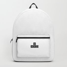 Gamer Gambler WASD Backpack