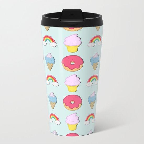 Happy Candyland Metal Travel Mug
