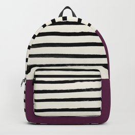 Plum x Stripes Backpack