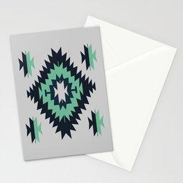 Santa Fe Southwestern Native Indian Tribal Geometric Pattern Stationery Cards