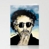 tim burton Stationery Cards featuring Tim Burton by Joanie L. Posner (jppozzy)