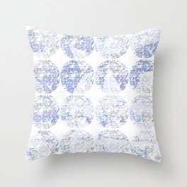blueworld Throw Pillow