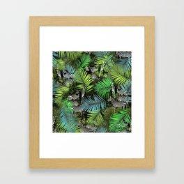 zebra ville Framed Art Print