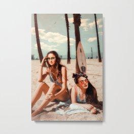 FRIDA & MONA Metal Print