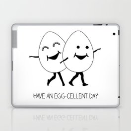 have an egg-cellent day Laptop & iPad Skin