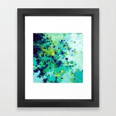 Aquamarine Addiction Framed Art Print