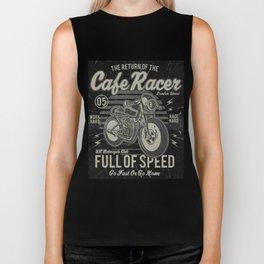 Caferacer Motorcycle Vintage Poster Biker Tank