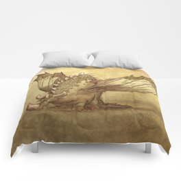 Del, the lonely desert dragon Comforters