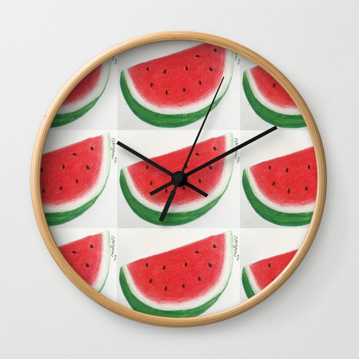 WATERMELOVER Wall Clock