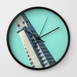 San Francisco Skyscraper Design Wall Clock