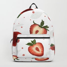 Strawberry/ red berry/ sweet berries/ summer sweets Backpack