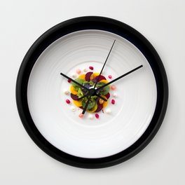 The Art of Food Colours of Nature 2 Wall Clock