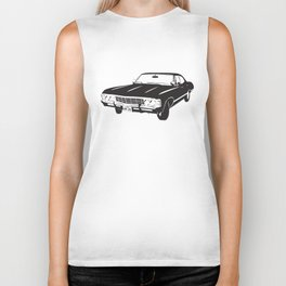 Supernatural Chevrolet Impala 67' Biker Tank