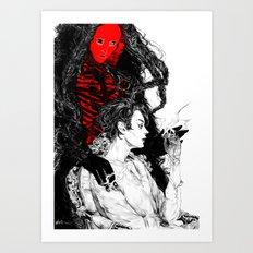 THE UNLUCKY Art Print