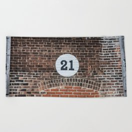 21 Beach Towel